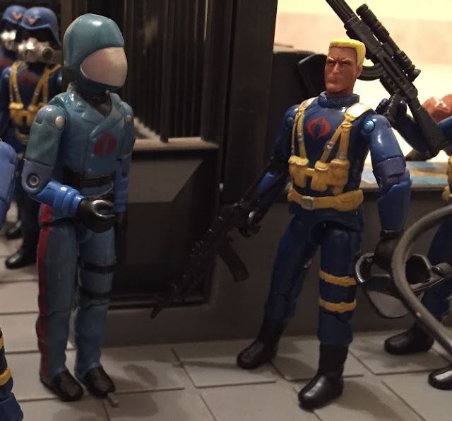2004 Comic Pack Hawk, Unproduced African American Head, Midnight Chinese, Unreleased, Rare G.I. Joe Figures, 1983 Cobra Commander, 2005 Gas Mask Trooper, Cobra Officer