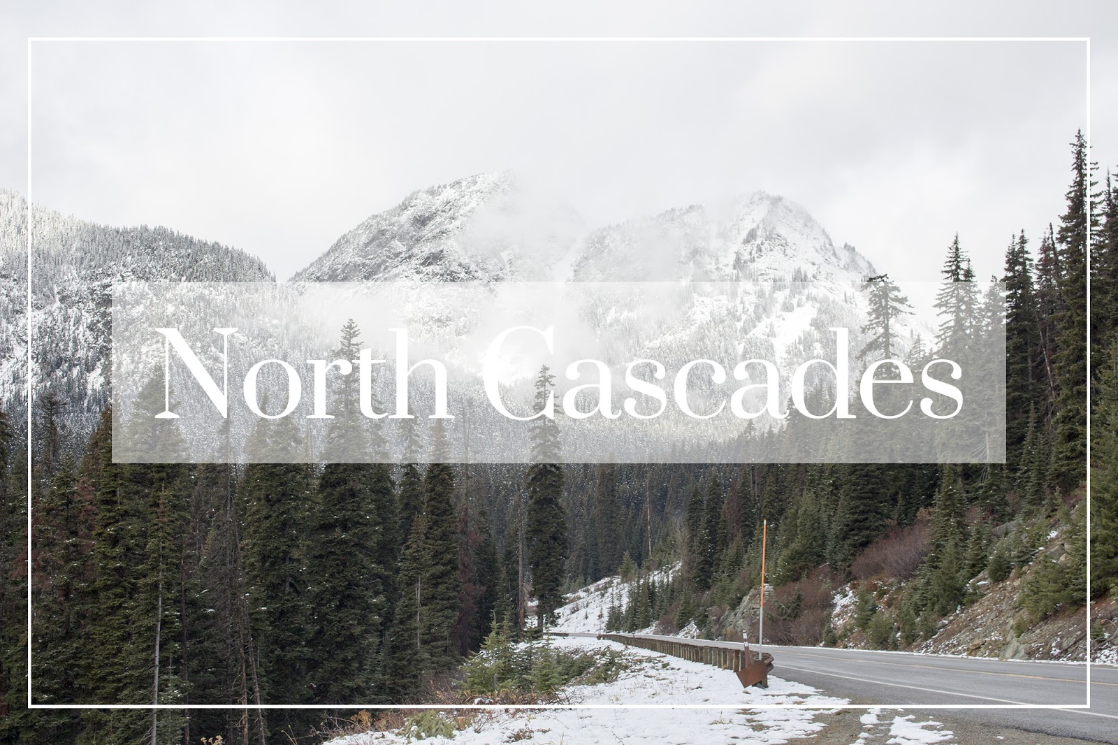 City guide voyage North Cascades National Park USA
