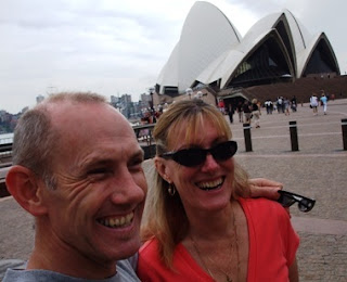 Midlife travel - the Sydney Opera House with my husband