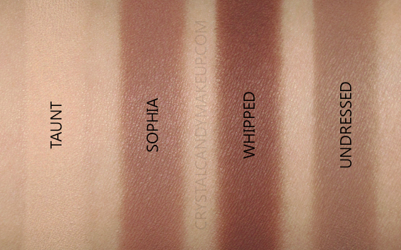 Nars Skin Deep Eyeshadow Palette Swatches