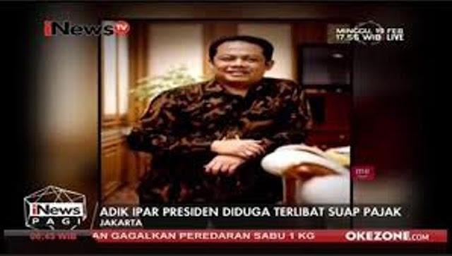 Kasus Suap Ipar Jokowi Lenyap, Ada Dugaan Intervensi Istana