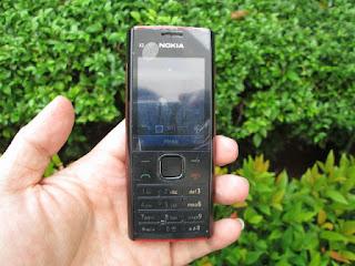 Nokia X2-00 Phonebook 1000 Slot MicroSD Seken Mulus
