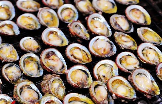 ăn bào ngư khi du lịch Cô Tô