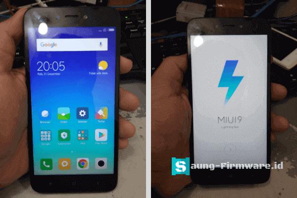 Cara Mengatasi Xiaomi Redmi 5A Stuck Recovery Tested