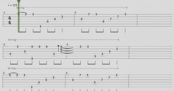 Songsterr Guitar Tabs With Rhythm – Dibujos Para Colorear