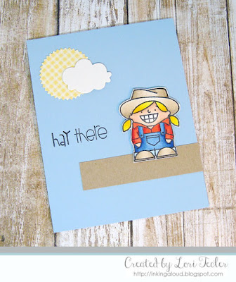Hay There card-designed by Lori Tecler/Inking Aloud-stamps from Paper Smooches