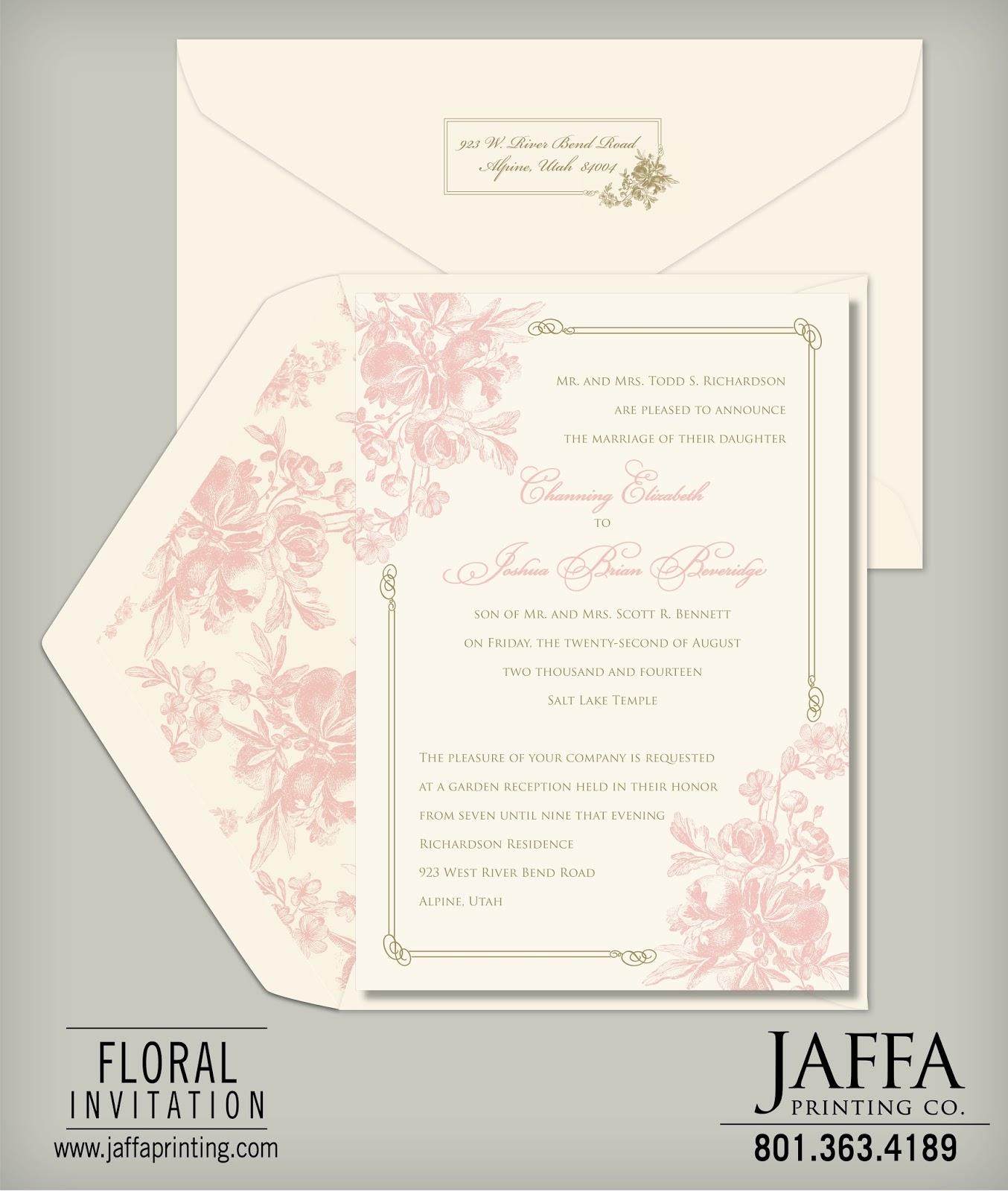 Wedding Invitation Blog: Your Wedding Invitation, Your Way