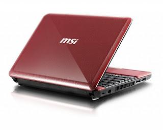 Harga Netbook MSI Wind U135 DX Terbaru