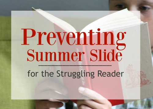 Prevent Summer Slide with this helpful tool for struggling readers