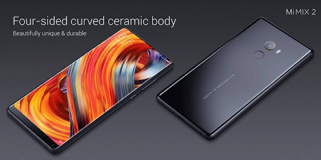 Xiaomi Intros Mi Mix 2 With 5.9″ Bezel-less Display