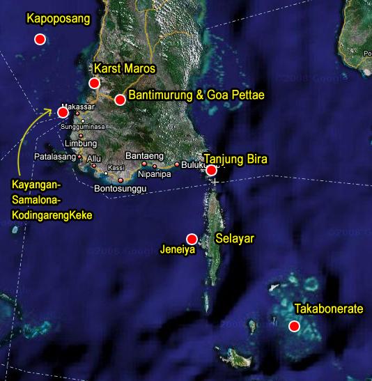 Pulau Selayar , Dalam Rangkuman Pulau Sulawesi