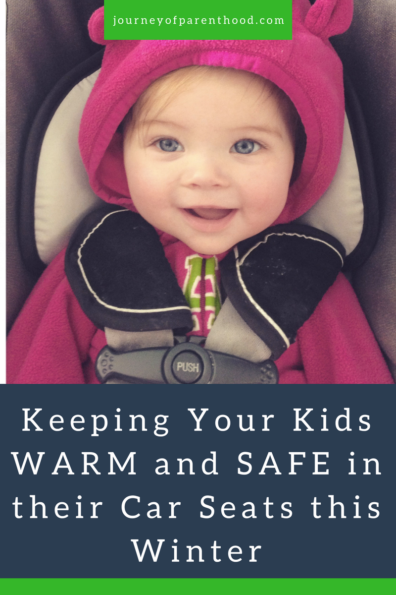keeping your kids warm and safe in their car seats this winter