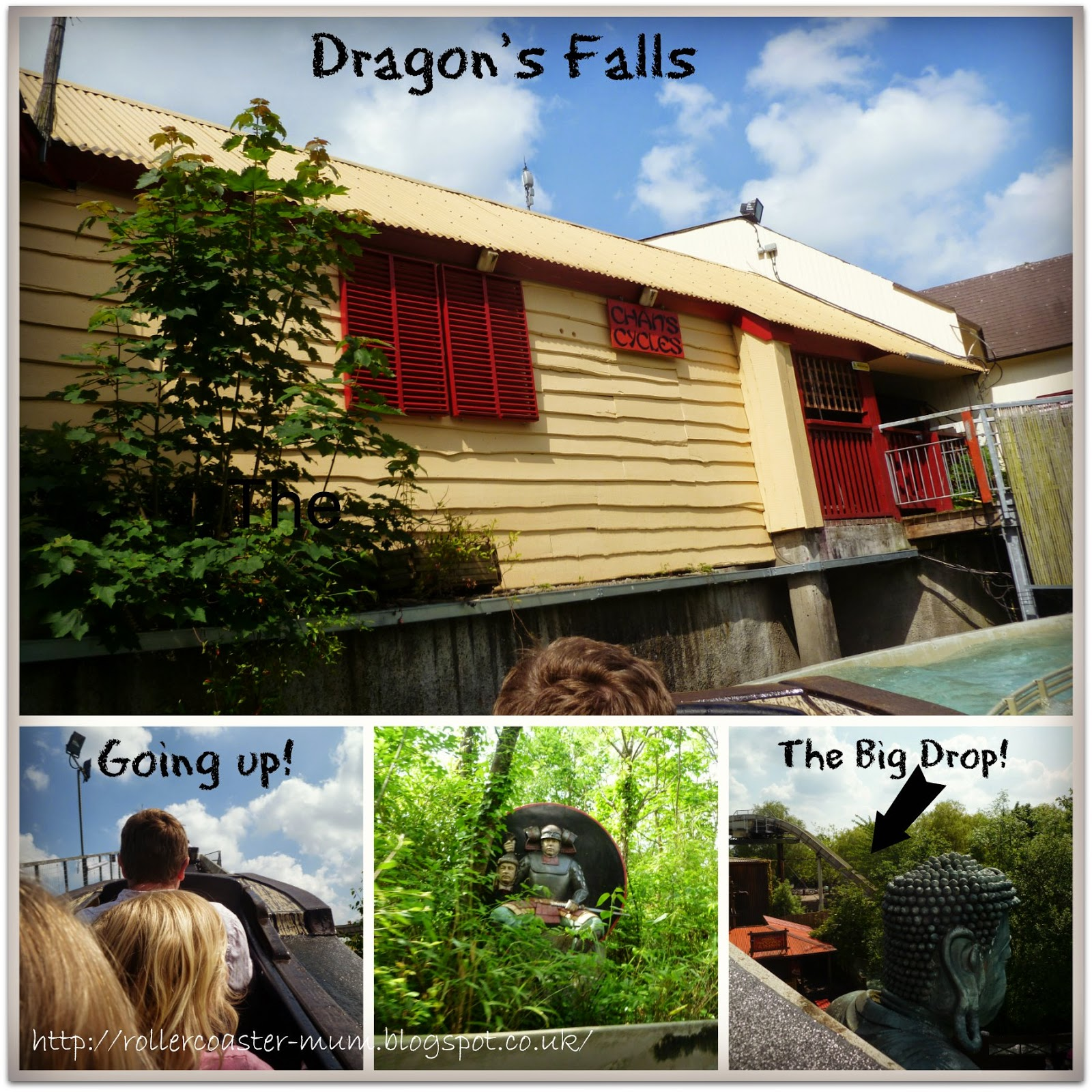 Chessington, Theme Parks, Log flume, Dragon's Falls