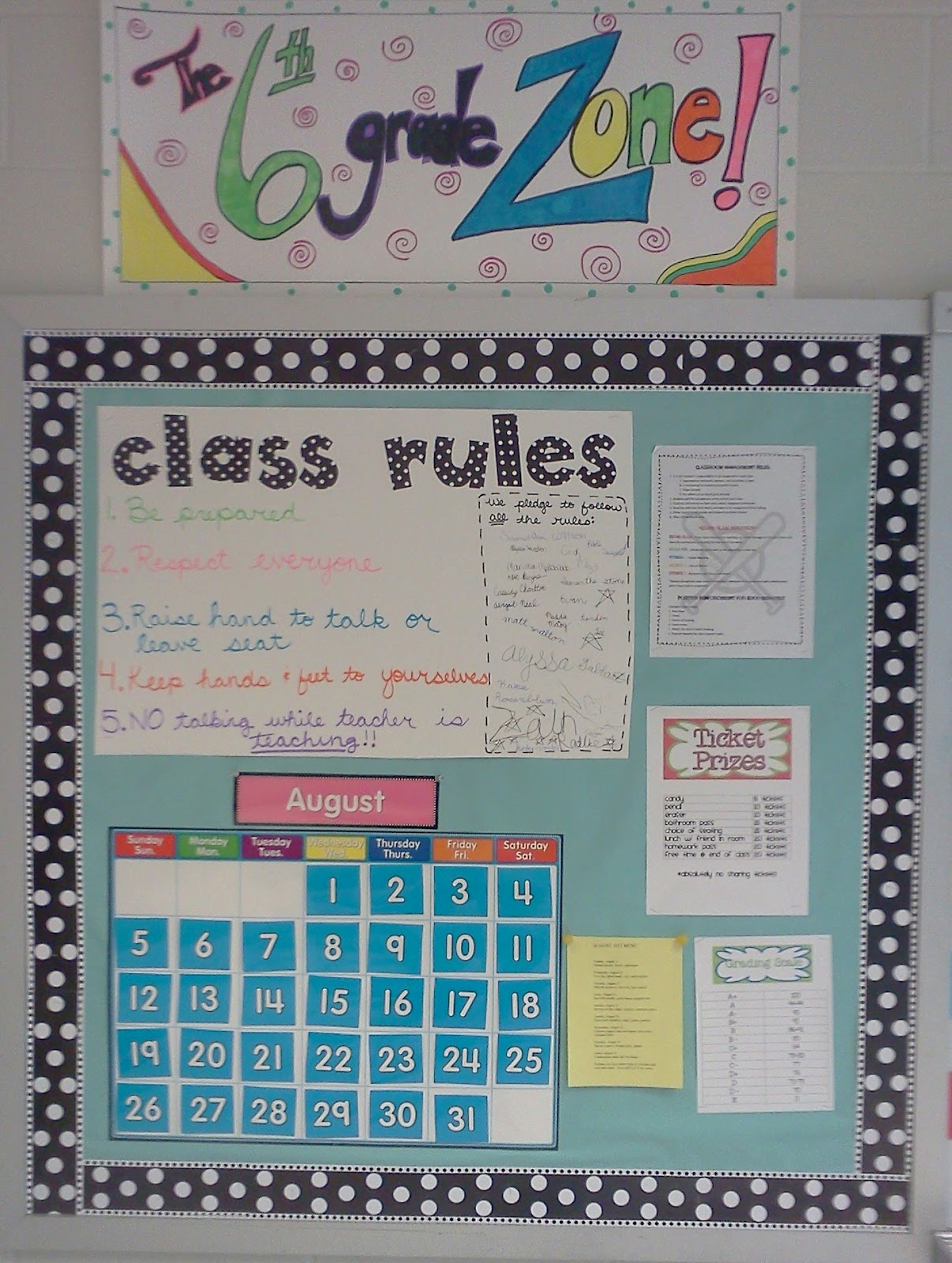 Mrs Crouse S Teaching Adventures Classroom Rules