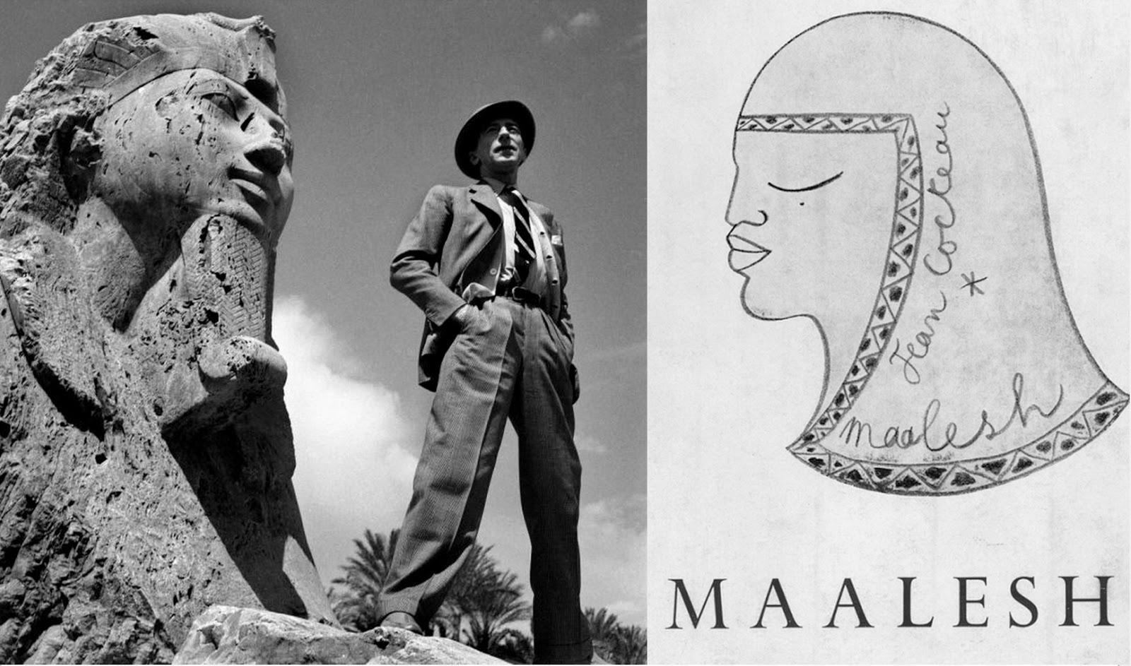 Sculpteur Peintre Et Poete Francais égyptophile: cocteau in cairo