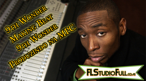 9th Wonder Making Beat - 9th Wonder Produzindo na MPC
