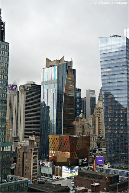 Vistas desde la Habitación del DoubleTree by Hilton Hotel New York Times Square West