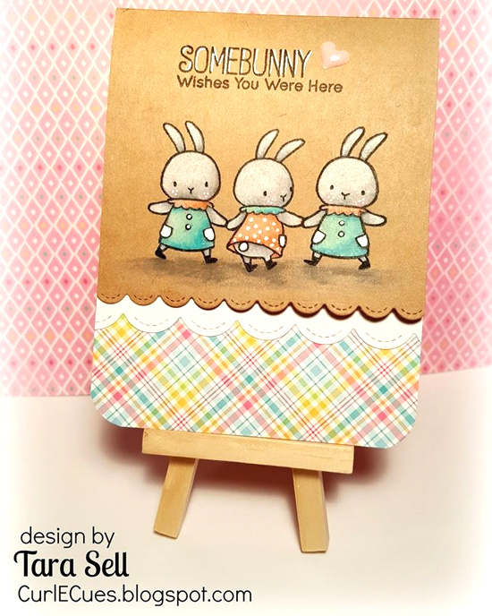 Birdie Brown Somebunny stamp set and Die-namics - Tara Sell #mftstamps