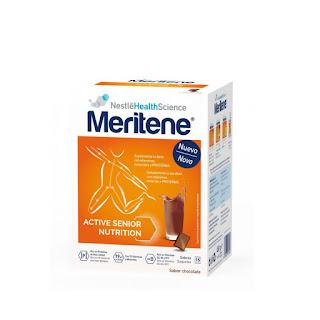 Sobres de chocolate Meritene