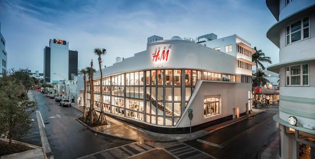 Lojas da Lincoln Road em Miami: H&M