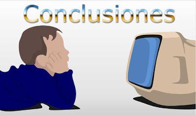 conclusiones acerca de cuanta tv pueden ver los niños