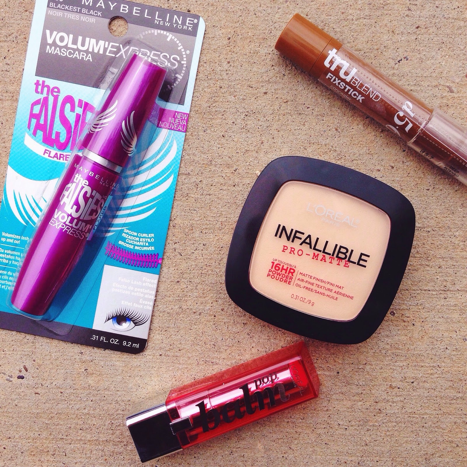 cheap drugstore makeup products haul loreal maybelline covergirl