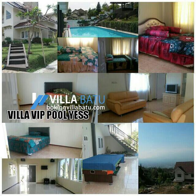 Penginapan Villa VIP Poll Yess Batu - Malang
