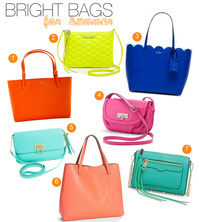 Bright bags for summer 2015