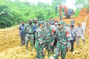 Danrem 012/TU Dampingi Waasrena Kasad Tinjau TMMD ke 108 Kodim 0105/Aceh Barat