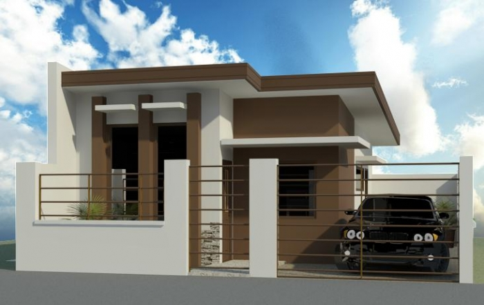 Do you want to loan or own a house for p2 280 monthly from for Filipino small house design