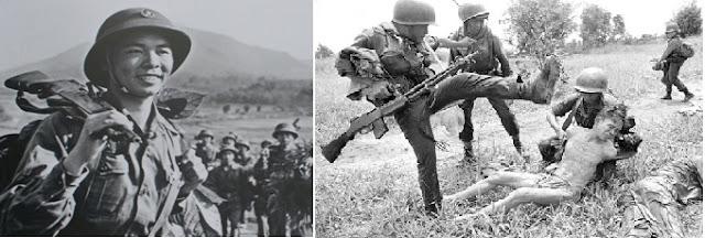 Bản chất chế độ Việt Nam Cộng Hòa được thể hiện qua người lính