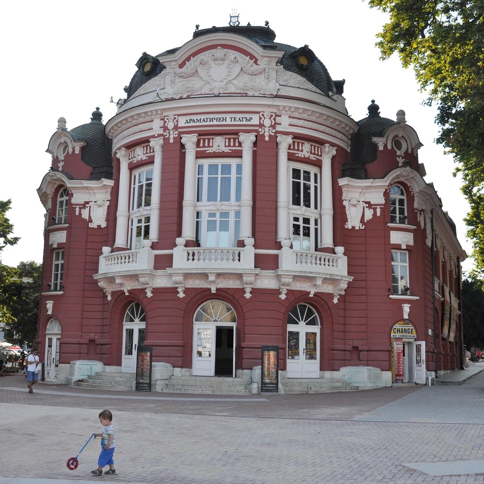 Theatre and Opera, Varna, Bulgaria