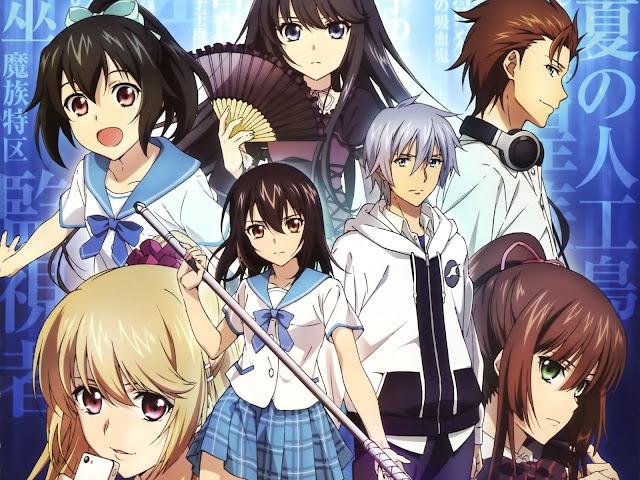 strike the blood ho0 30 Rekomendasi Anime Harem Terbaik