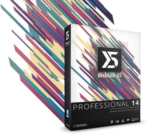 Incomedia WebSite X5 Professional 14.0.5.3 poster box cover
