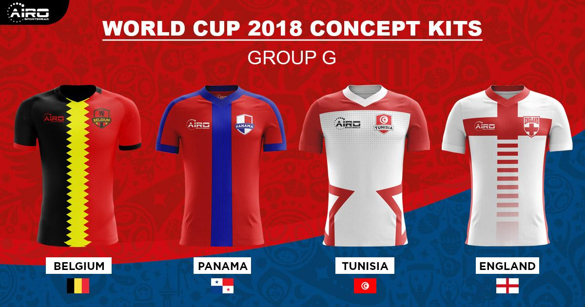 Available To Buy 2018 World Cup Concept Kits By Airo
