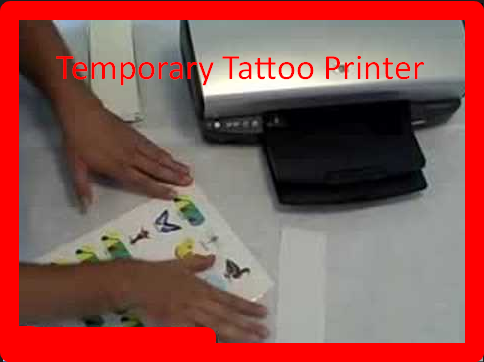 Temporary Tattoo Printer