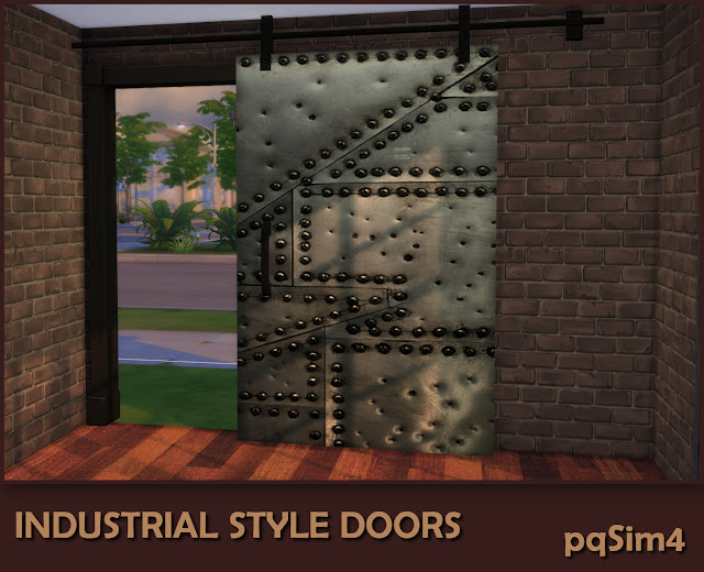 Industrial Style Decor Doors. Puerta 5