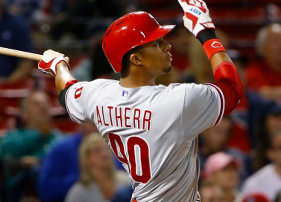 Aaron Altherr grand slam lifts Phillies past Kershaw and the Dodgers.