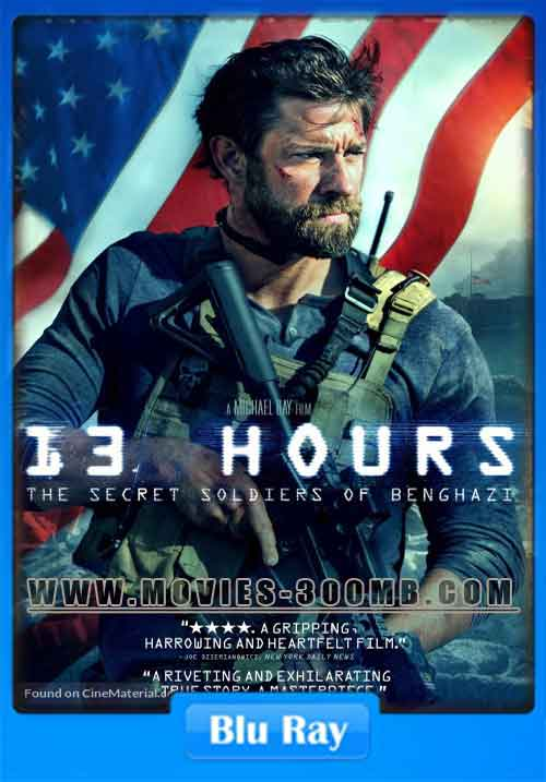 13 Hours 2016 190MB HEVC BluRay Poster