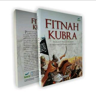Buku FITNAH KUBRO, Tragedi Pembunuhan Khalifah Utsman bin Affan Toko Buku Aswaja Surabaya