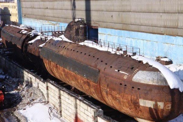 где утилизируют подводные лодки