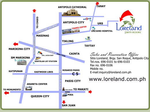 direction map philippines with Loreland Farm Resort In Antipolo City on Maps also Tecnogas Philippines Warehouse Sale October 6 7 2017 together with 27 Climatology And Agrometeorology also Naples Subway Map in addition 12 Long Weekends In The Philippines In 2018.