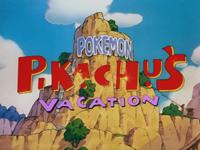 vacaciones de pikachu