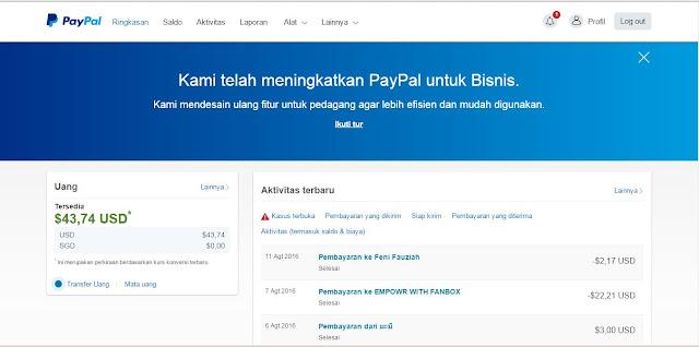 Cara Membuat Akun Paypal (Lengkap & Terbaru)