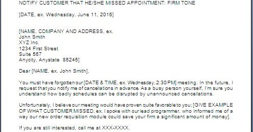 Warning Letter For Missing Meeting