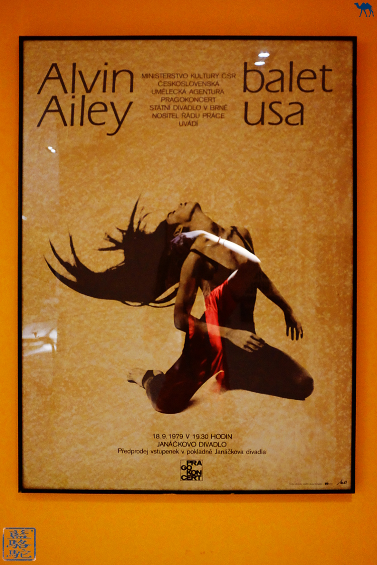 Le Chameau Bleu - Poster du Studio de danse d'Alvin Ailey  à New York USA
