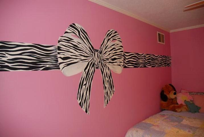 Zebra Room Wall Paint Ideas