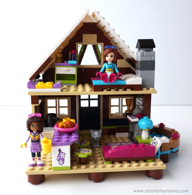5 Ski Trip Tips and LEGO Friends Snow Resort Chalet set review
