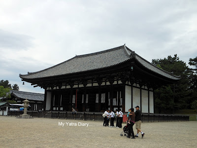 Tokondo hall or the Eastern golden hall, Kofukuji Temple in Nara - Japan