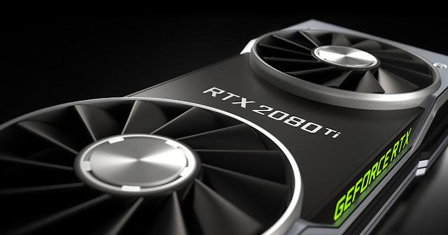 بطاقة Nvidia RTX 2080 Ti الجديدة